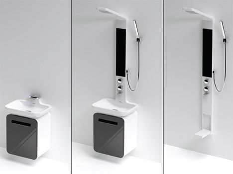 Toilet Shower Sink Combo - Modern folks will find problems. This bathroom  gear is crucial these days, that we can not live