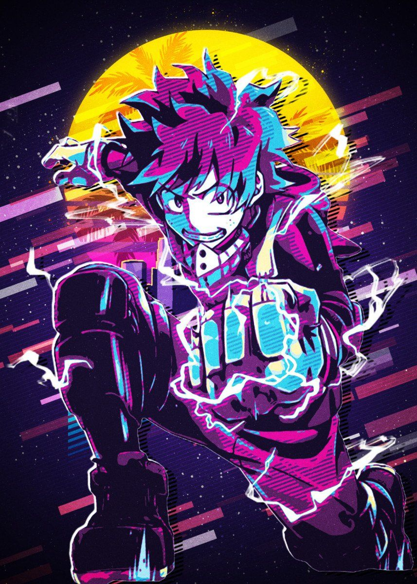 'My Hero Academia' Metal Poster TrumbalaArt Displate