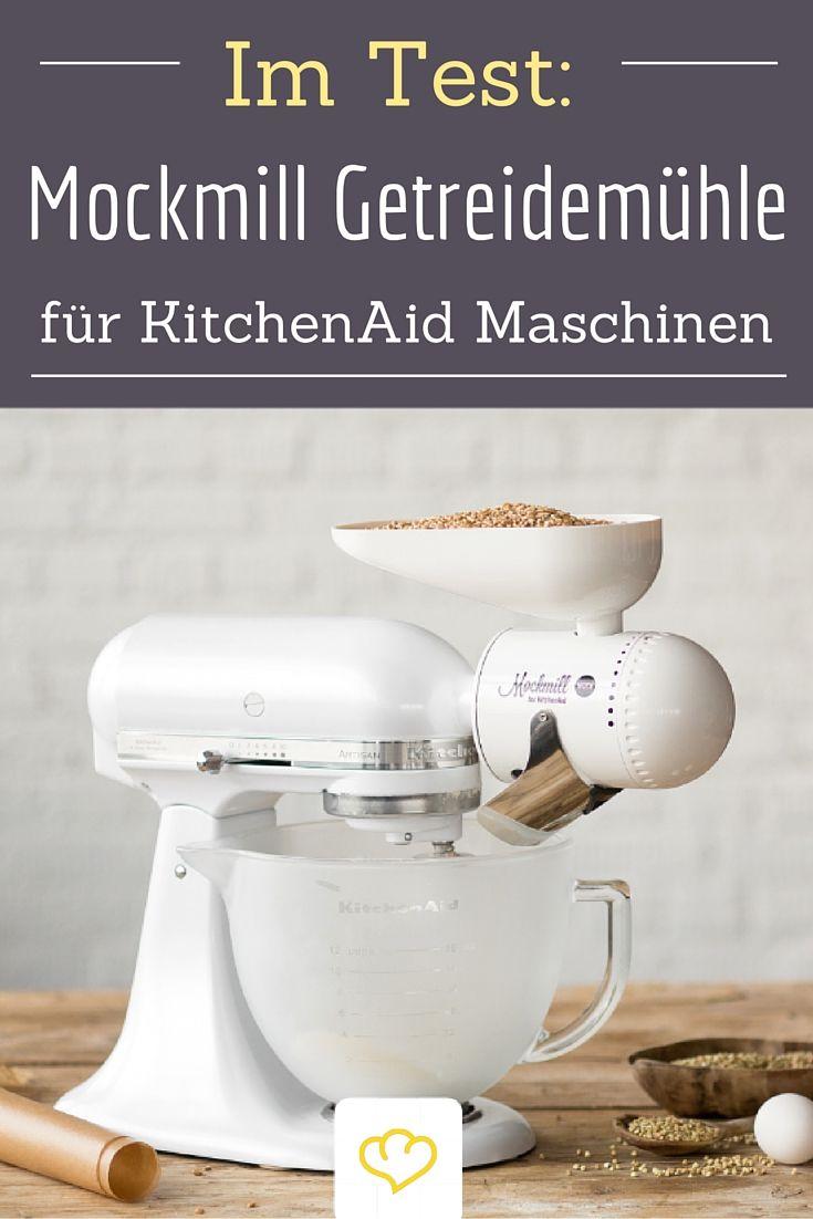 Im Test: Die Mockmill Getreidemühle für deine Küchenmaschine ...