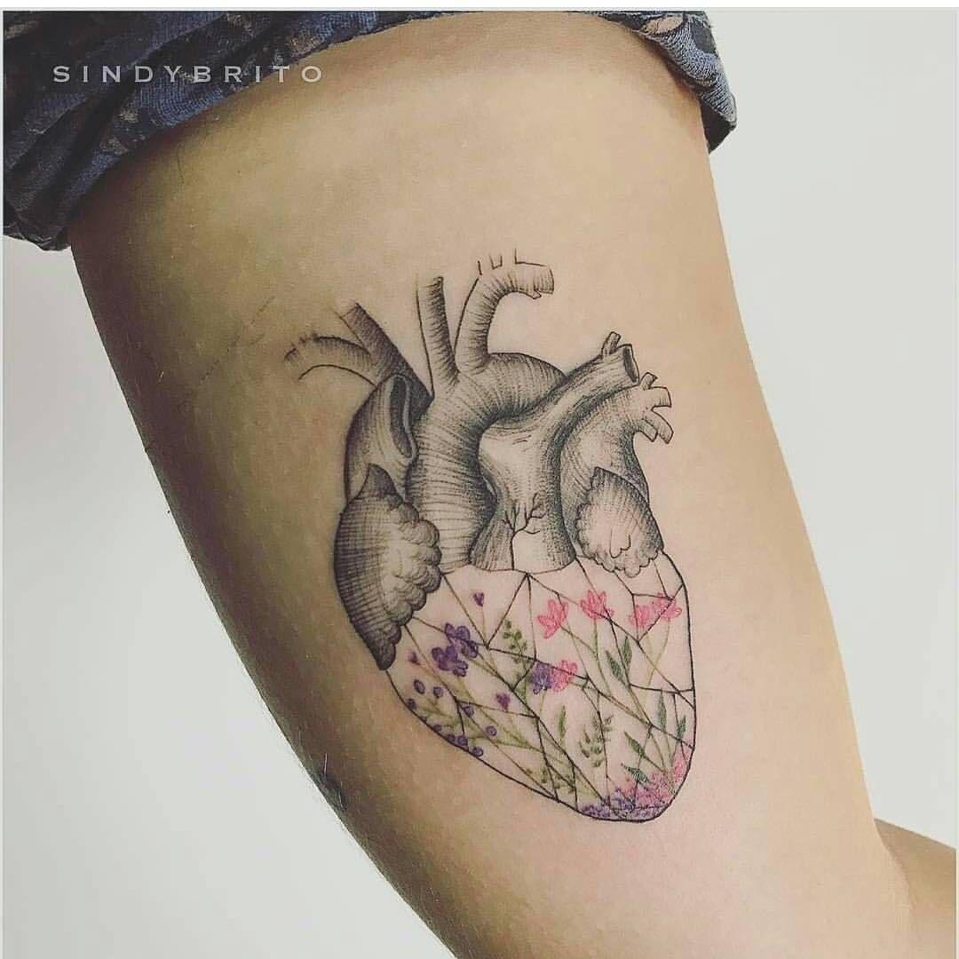 "3,547 Me gusta, 9 comentarios - TATUAGEM FEMININA ♡ (@tattoopontocom) en Instagram: ""Artista: @sindybrito #tattoo #ink #tattoos #inked #art #tatuaje #tattooartistic #tattooed…"" #women , #sleeve , #geometric , #flower , #floral , #mandala # ,  # , # , # , # , #"