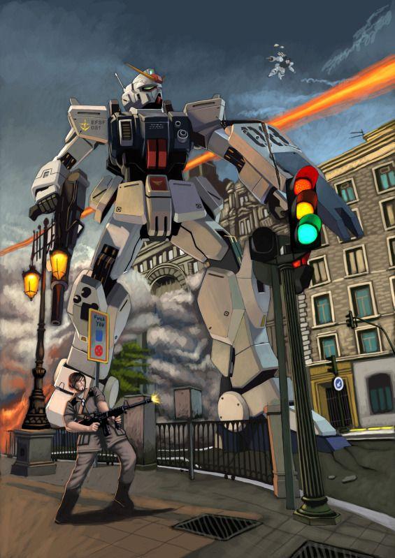 Gundam 08th Ms Team By Wingwingwingwing On Deviantart Gundam Gundam Art Gundam Poster
