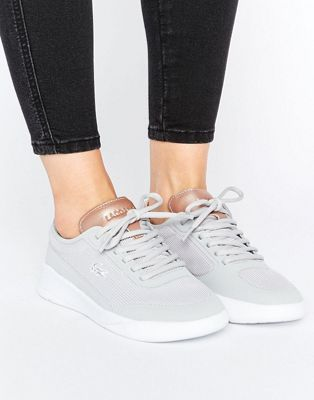 Women Lacoste Lt Spirit Elite Grey Trainers Grey Outlet Genuine