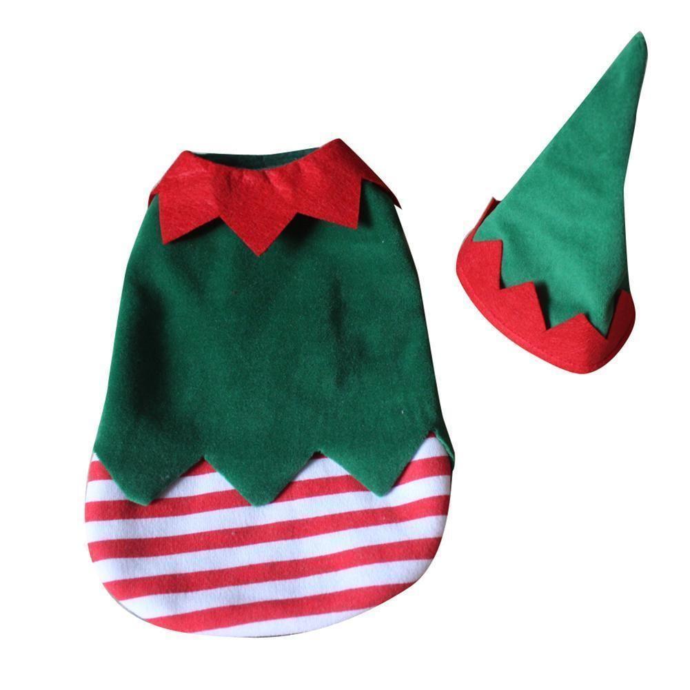 Christmas Elf Costume Xl Dog Elf Costume Elf Costume