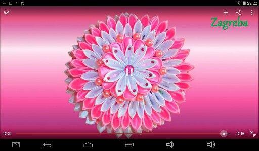 flores con liston
