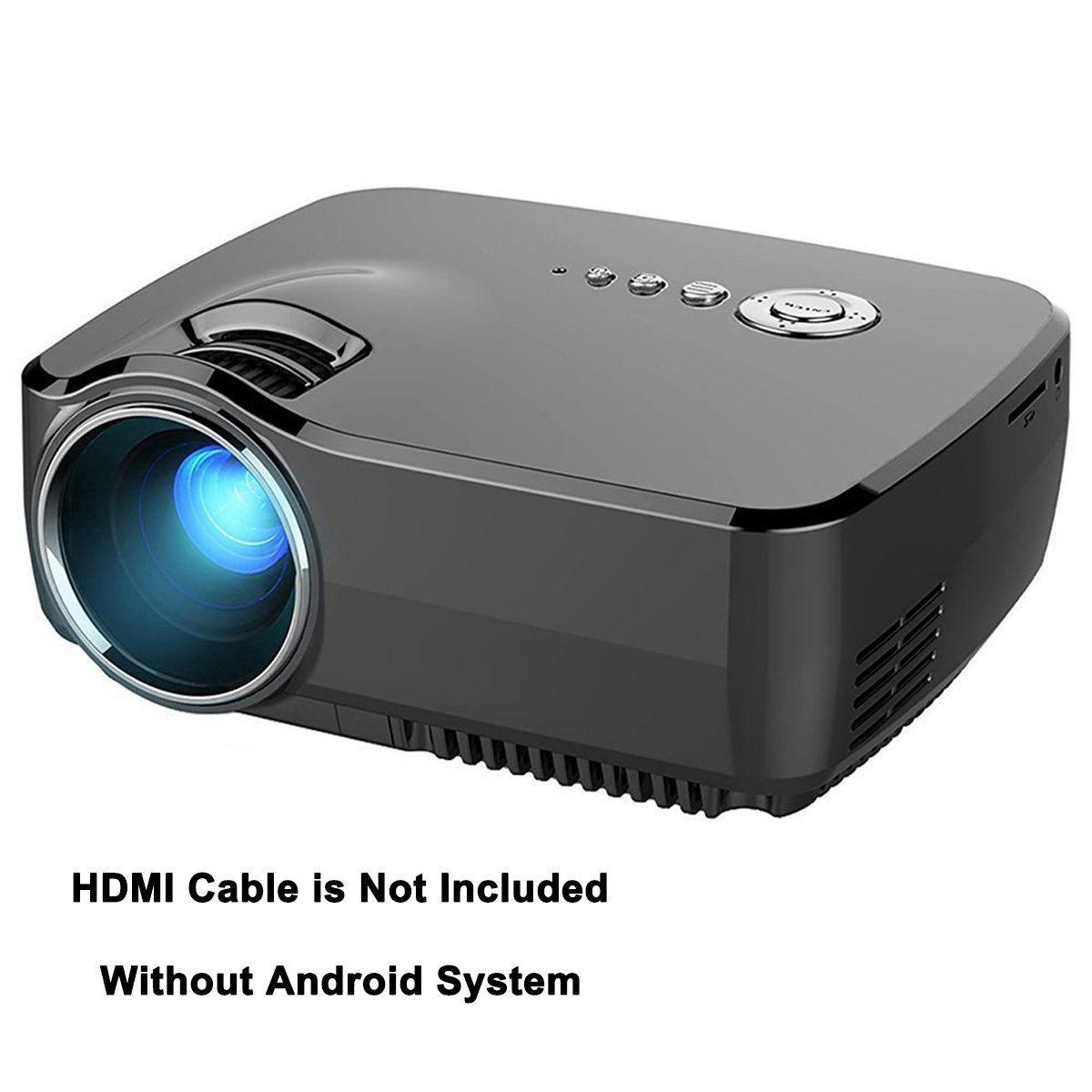 Videoprojecteur Avec Tuner Tv videoprojecteur led, honyi 800 * 480 pixels 1200 lumens
