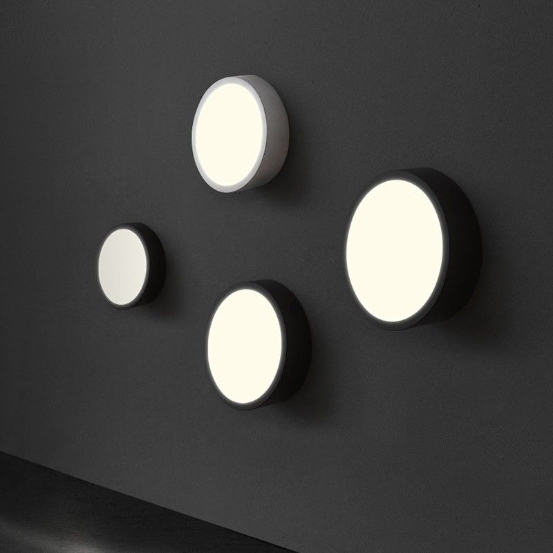 Search Results For Uk Contemporary Led Indoor Lighting Round Acrylic Wall Light Black White Led Indoor Lighting Wall Lamps Bedroom Lights