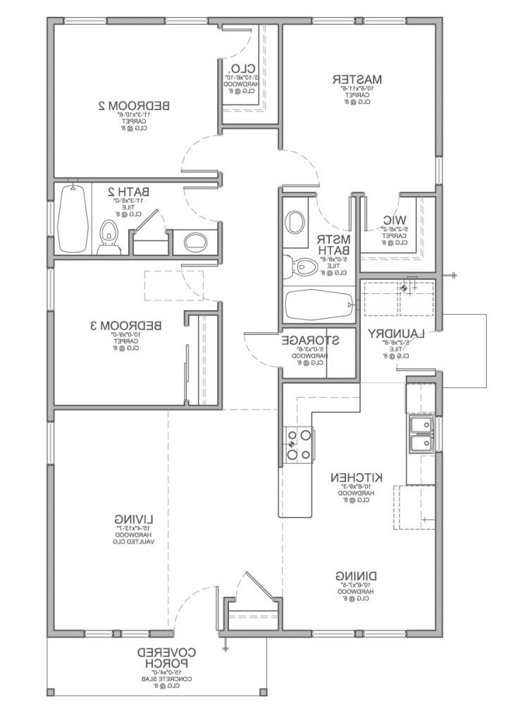 Simple 3 Bedroom Bungalow House Design Pinoy House Designs Pinoy House Designs Bungalow Floor Plans One Storey House Single Storey House Plans