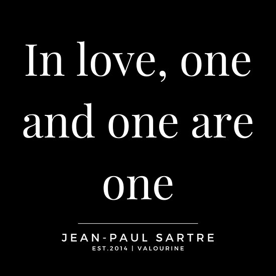 '22 | Jean-Paul Sartre Quotes | 190810' Poster by QuotesGalore