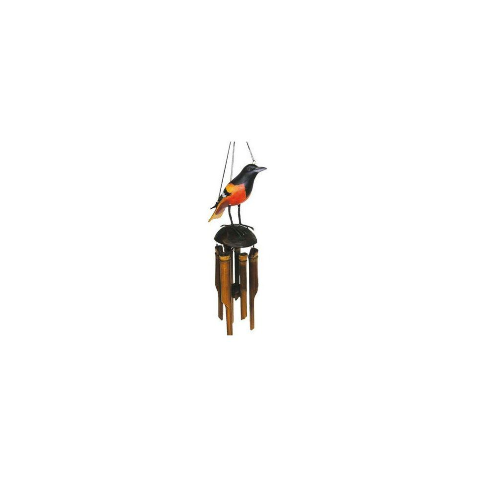 new cohasset imports baltimore oriole wind chime hand tuned made from the highest quality materials wind chimes cohasset baltimore orioles wind chimes