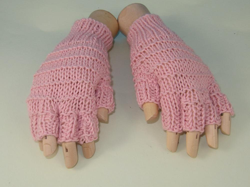 Simple Stripe Short Finger Gloves | Striped shorts, Gloves and Finger