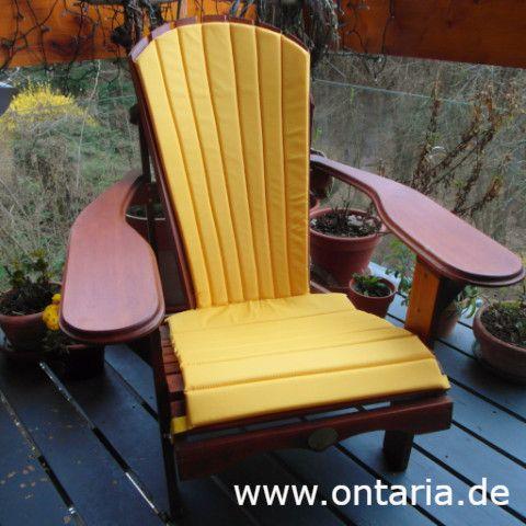 Yellow Cushion For Adirondack Chair Adirondack Chairs