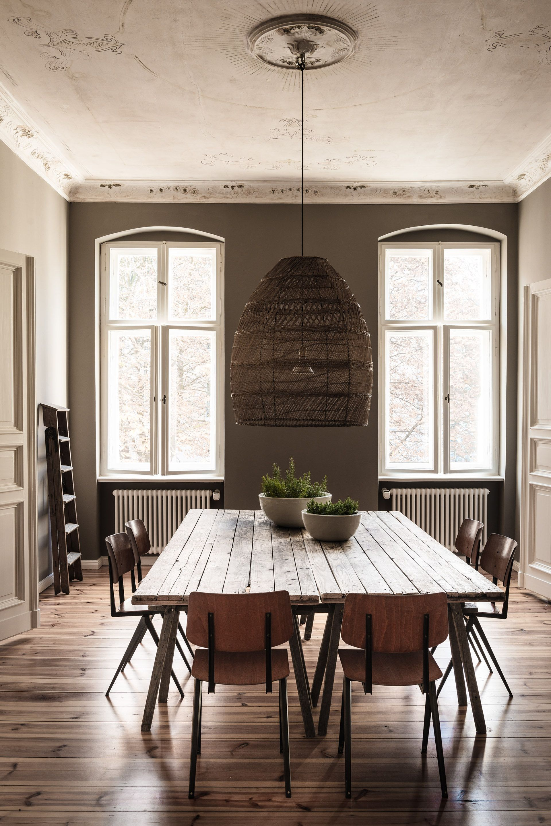 A historic apartment inhabited by two young professionals gets an industrial update vogue living