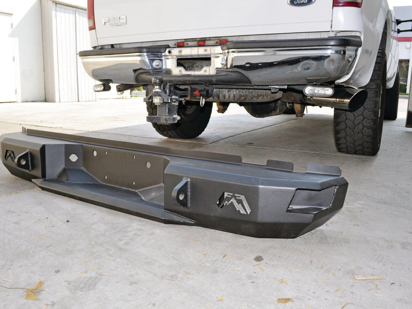 Ford f 250 fab fours heavy duty bumpers install rear bumper jpg 1 600 1 200 pixels truck pinterest