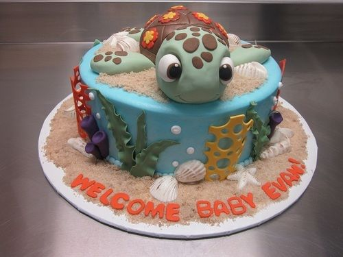 Finding Nemo Cake For My Baby Evan Thanks Elemakescakes