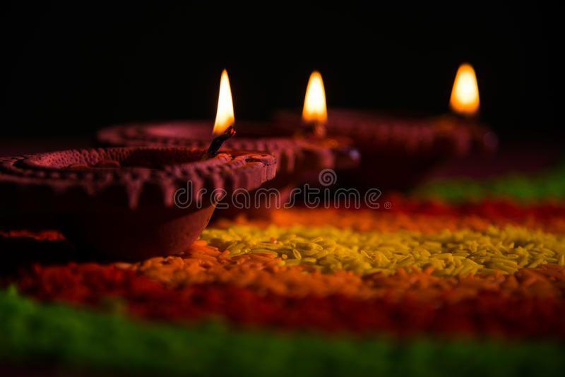 Beautiful Diwali Diya Or Oil Lamp Or Lighting Selective Focus Traditional Diya Affiliate Oil Lamp Diya Beautiful Diwa Oil Lamps Diya Lamp Diwali