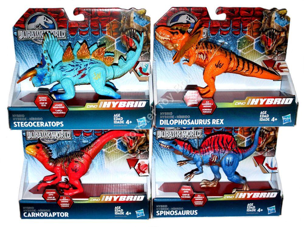 Jurassic World Hybrid Dinosaur Action Figures - Carnoraptor