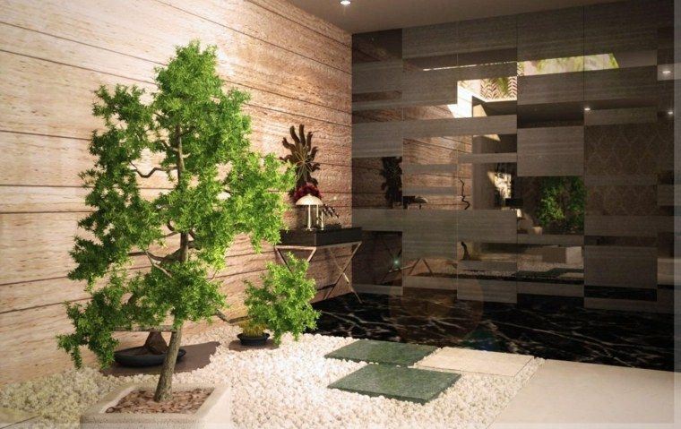 Petit jardin zen  108 suggestions pour choisir votre style zen - petit jardin japonais interieur