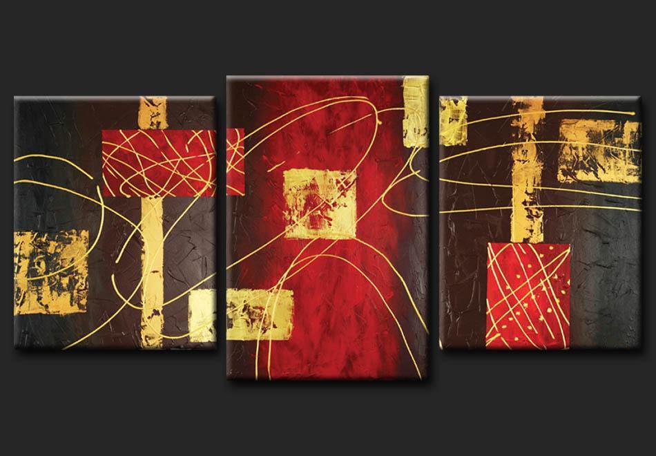 Cuadros abstractos modernos en acrilico texturados - Fotos cuadros abstractos ...