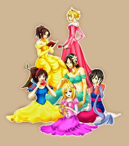 Attack on Disney Princesses #進撃の巨人  #AttackOnTitan   #ShingekiNoKyojin  …