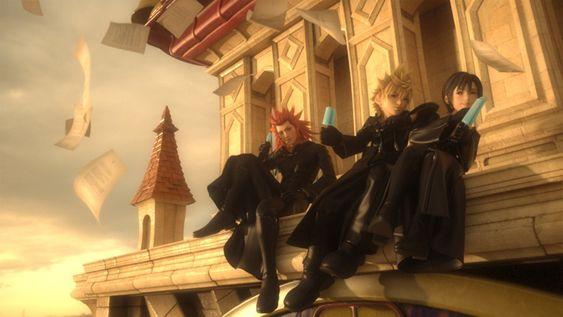 Axel, Roxas & Xion