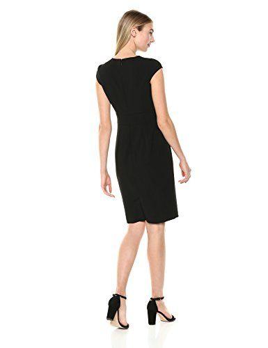 e67c318ac8e7c Lark & Ro Women's Cap Sleeve Sheath Dress - Midi Lengths Dresses | New  Trending Dresses For Womens