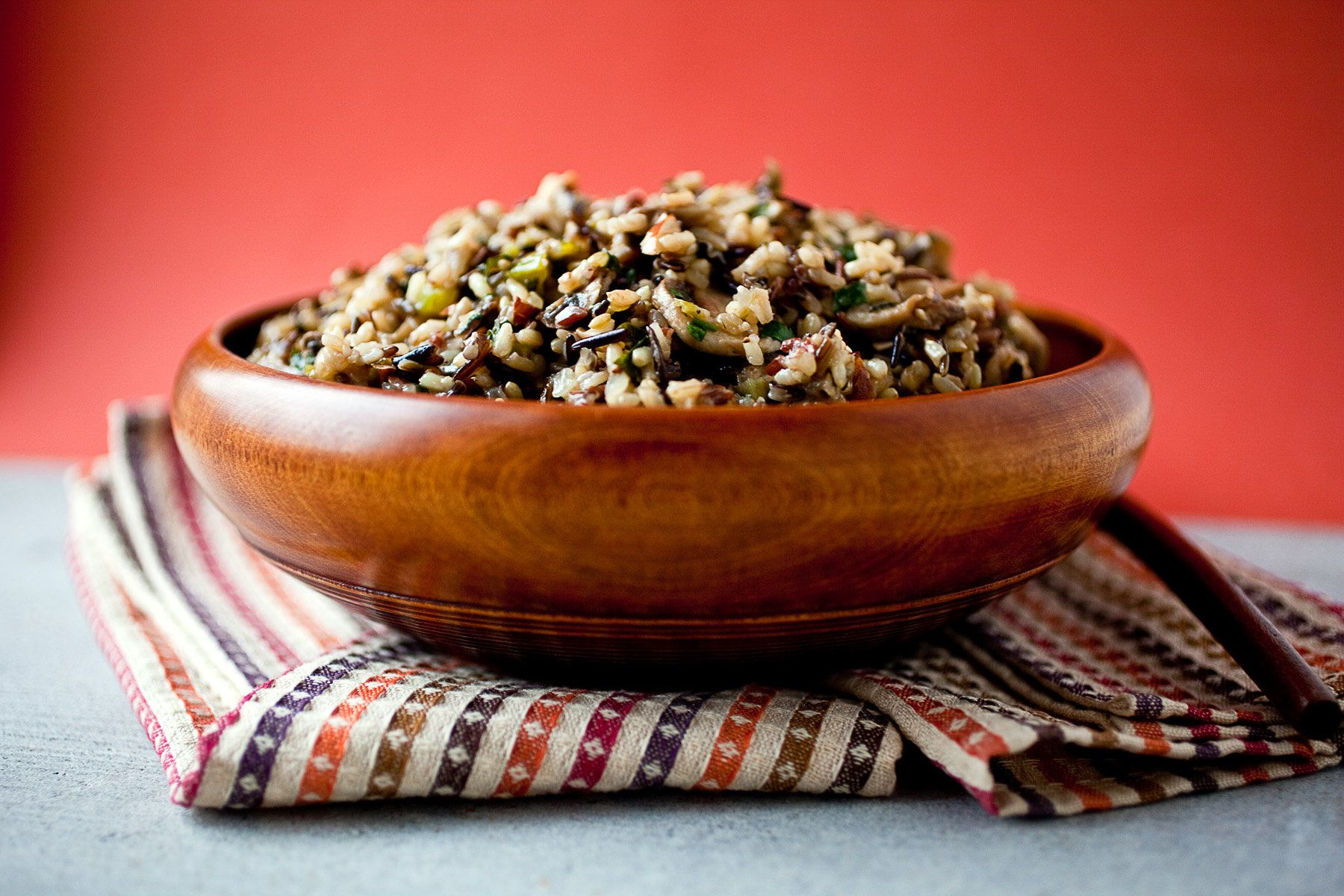 NYT Cooking: Wild Rice, Almond and Mushroom Stuffing