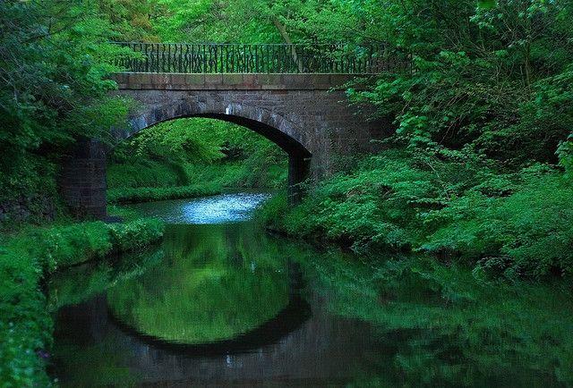 Along the Union Canal, Edinburgh, Scotland by UmX, via Flickr