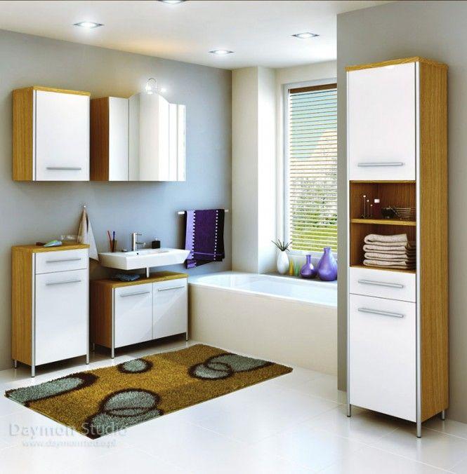 White color luxury bathroom designs by semsa bilge and daymon studio
