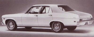 1968 Chevy Nova Chevrolet Nova Chevrolet Sedan