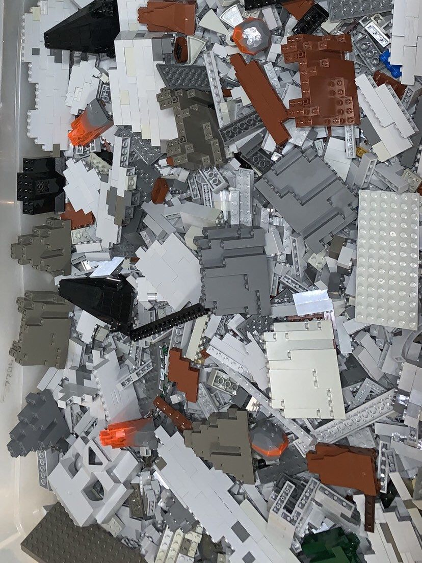 Clean 100/% Genuine Authentic LEGO 1 LB Mixed Lots pounds Bulk Lot Sanitized