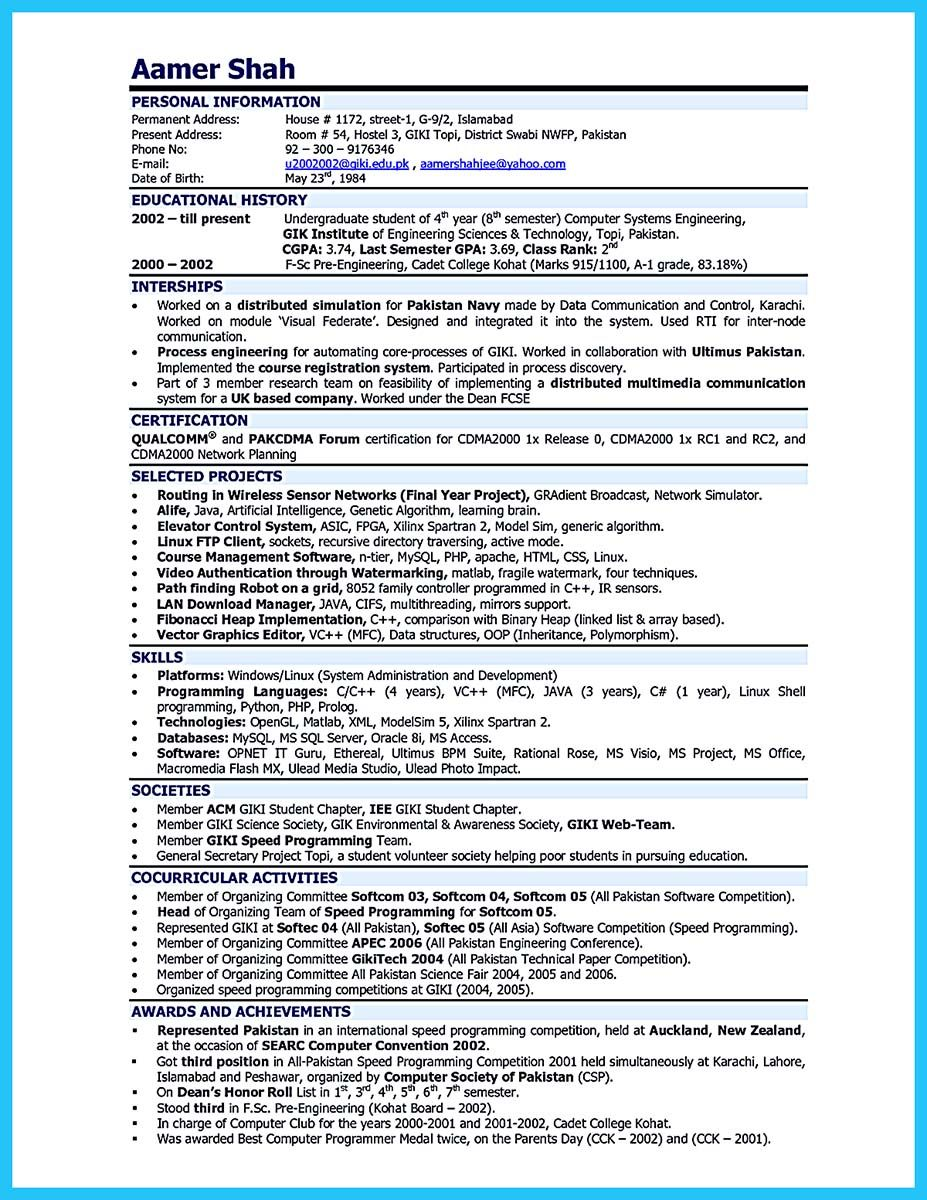 It Is Important To Arrange A Representative Audio Engineer Resume