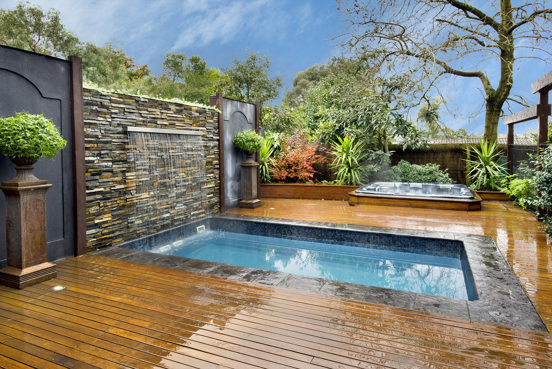 Cost Of Endless Pool Swim Spa | Backyard plans | Small ...