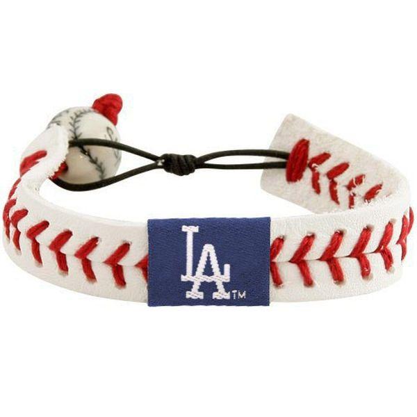 Los Angeles Dodgers Women's Baseball Bracelet - White - $9.99