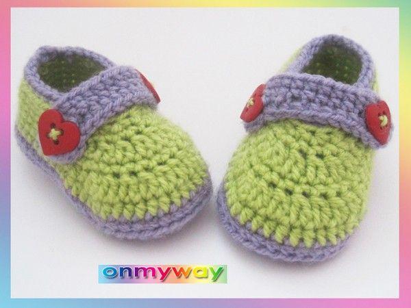 H kelanleitung babyschuhe 0 bis 12 monate mit riemchen h keln babyschuhe h keln pinterest - Bommel machen anleitung ...