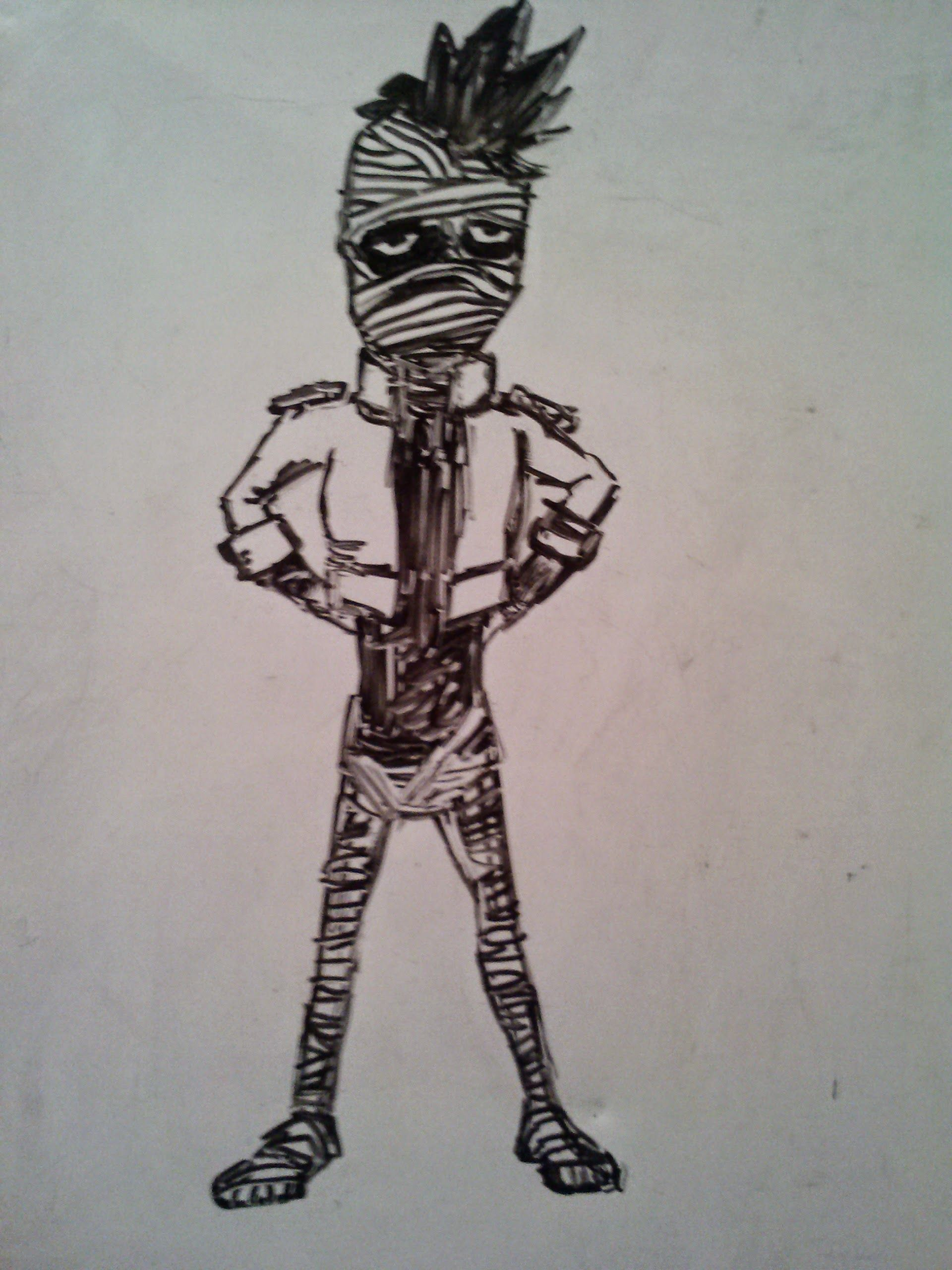 Hereus another new mummy but drawn really poorly drawrings