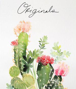 Watercolor Tutorial With Creativebug Cactus Art Watercolor Art