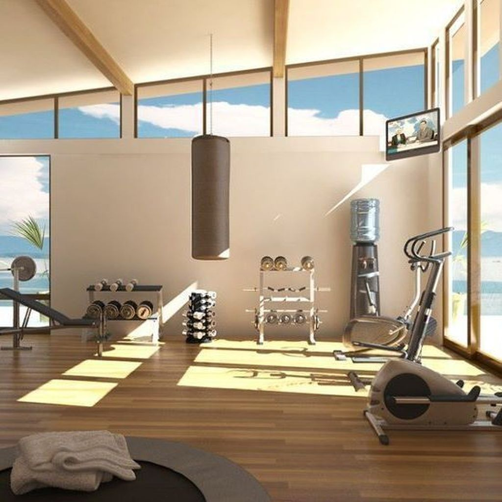 35 Nice Home Gym Design And Decor Ideas