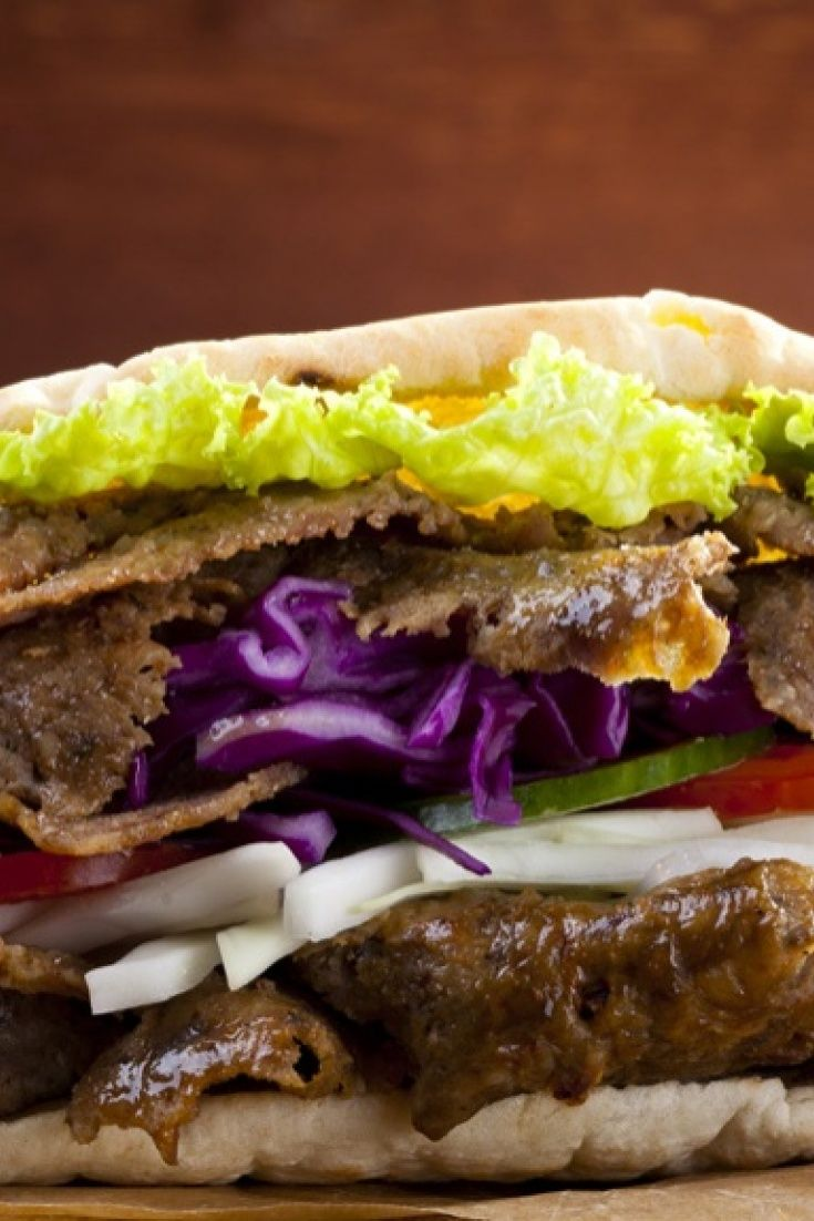 Fakeaway Slow Cooker Doner Kebab Recipe In 2019 Kebab