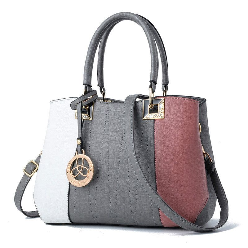 89068039b5d Aliexpress.com   Buy MONNET CAUTHY Women s Bags Elegant Office Ladies  Fashion Girl Handbag Colorful Blue Black Grey Occident Style Female Hobos  Totes from ...