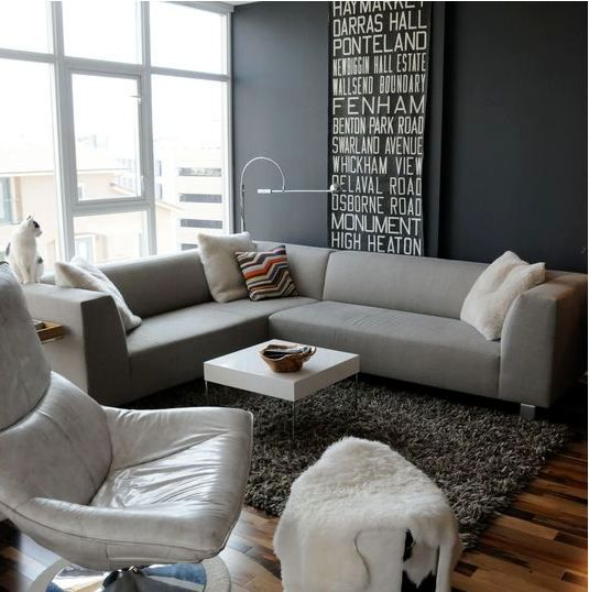 Gray Living Room Apartment Therapy Wall Colors Room And Grey - Apartment therapy living room