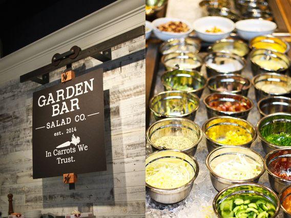 Slide Show Inside Garden Bar Now Tossing In The Pearl Salad Bar Restaurants Salad Bar Salad Restaurants