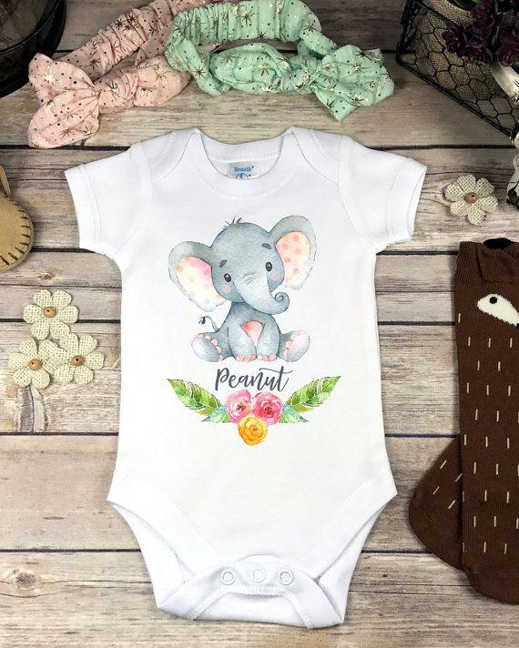 0b0f2701 Little Peanut Elephant Onesies® Brand or Carter's® Bodysuit - Baby ...