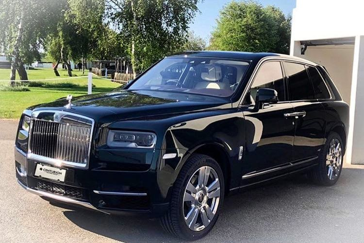 Rolls Royce Cullinan Super Cars Carotorcycles New