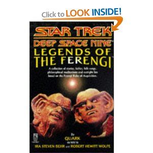 Legends of the Ferengi (Star Trek Deep Space Nine (Unnumbered Paperback))