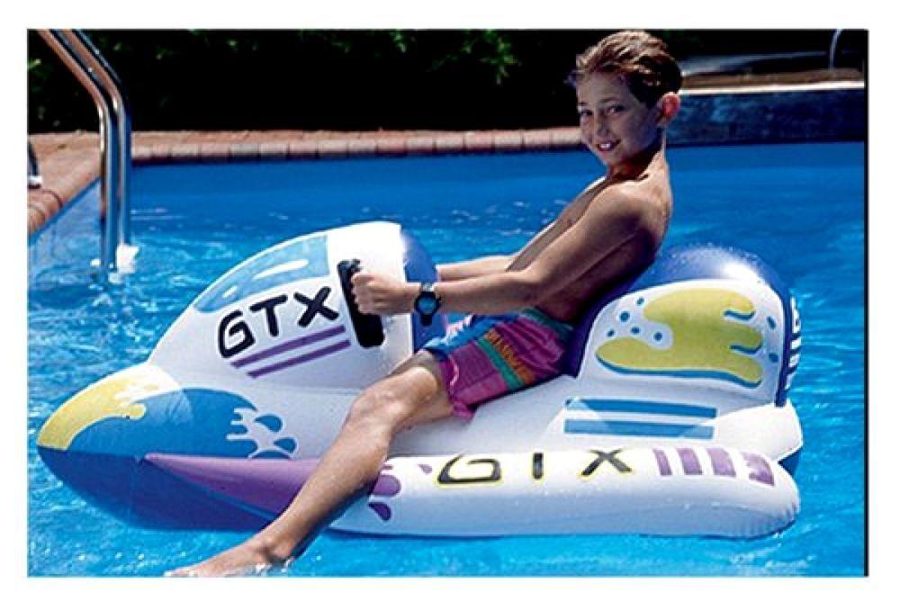 GTX Wet Ski Inflatable RideOn 1 White New Free Shipping