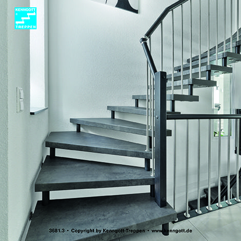 kenngott treppe verdi stufen schieferline longlife r9 freitragende kenngott treppe 1 4 gewendelt. Black Bedroom Furniture Sets. Home Design Ideas