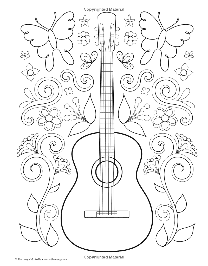 Hipster Coloring Book Design Originals Thaneeya Mcardle 9781574219647 Amazon Com Books Designs Coloring Books Music Coloring Coloring Pages