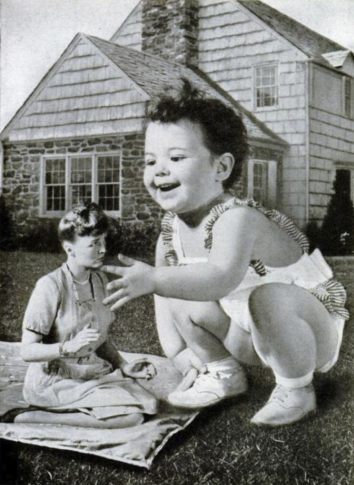 Johnson's Baby Powder, 1946. Ok that's birth control right there. #WillHaveNightmares #OldAds