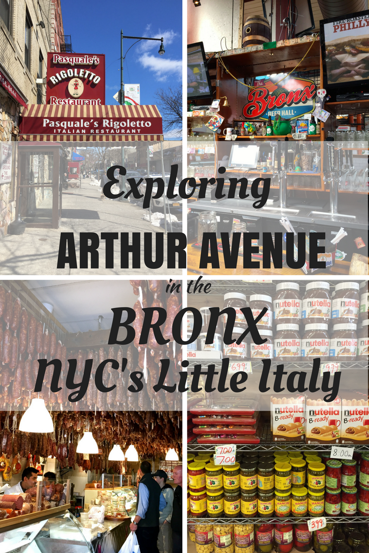 Arthur Avenue In The Bronx Also Known As New York S Real Little Italy Is A Treasure Trove Of Good Eats Italian Restaurants Delicatessens Bakeries And