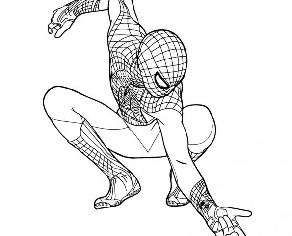 The Amazing Spiderman 2 Coloring Pages To Print For Kids Spiderman Coloring Superhero Coloring Pages Superman Coloring Pages
